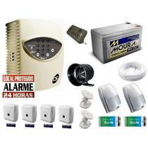 Kit Alarme Residencial/comercial Cs 6 Sensores + Discadora