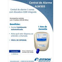 Central Alarme Gsm Westron Discadora Celular Quadriband