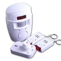 Kit Alarme Sem Fio Com Sensor De Presença E Controle Sem Fio