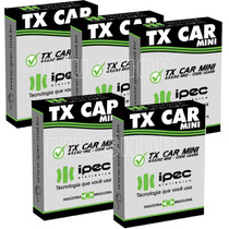 Kit 5 Controles Para Farol De Carro - Tx Car - 433,92