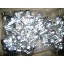 50 Lanças Em Alumínio Bola Para Portões E Grades De 5/8
