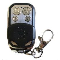 Controle Aço Escovado Portão Eletrônico Ppa Garen 4 Canais