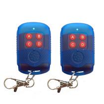 2un Controle Portão Alarme Clone Duplicador Copiador 433mhz