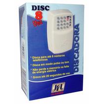 Discador Disc-8 Voz Jfl P/central De Alarme E Cerca Elétrica