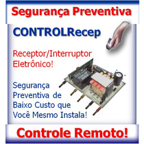 Receptor Digital 433mhz P/ Segurança Portões E Hobistas