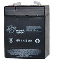 Bateria 6v 4,5ah Brinquedo, Moto Elétrica, Carrinho Elétrico