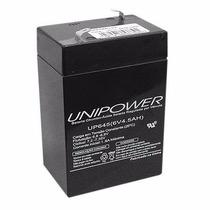 Bateria Selada 6v 4,5a Up645 Unipower