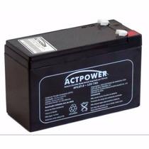 Bateria Para Alarme E Nobreak 12v-7ah Actpower