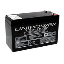 Bateria 12v 7a Selada - P/ Nobreak Alarmes Cerca Elétrica Nf