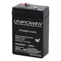 Bateria Selada Alarme Nobreak Unipower 6v 2.8 Amperes Up628