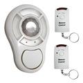 Kit Alarme S/ Fio C/ Sensor Presença + 2 Controles Key West