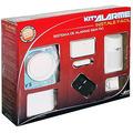 Kit Alarme Residencial Comercial Sem Fio Sensor Controle E N