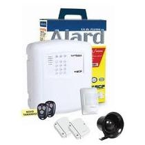 Kit Central Alarme Residencial Sem Fio Alard Max 4 Casa Ecp