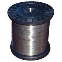 Arame De Aço Inox Para Cerca Eletrica 0,60mm