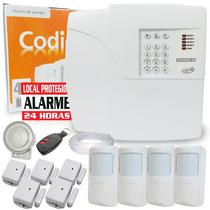 Kit Alarme Residencial E Comercial Sem Fio Ppa 9s + Brinde