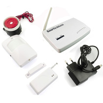 Kit De Alarme Residencial Gsm Com Sistema Wireless No Brasil