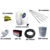 Kit Cerca Elétrica Completo Para 60 Metros - Frete Gratis!!