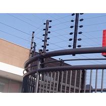 Kit Cerca Eletrica Industrial - Instalada Rmr Até 100m