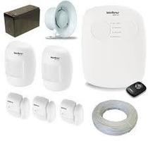 Kit De Alarme Intelbras S/ Discadora Com Fio
