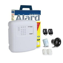 Kit Alarme Residencial E Comercial Kit Alard Max 4+key+bater