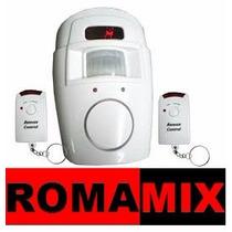 Kit Alarme Com Sensor De Presença Residencial/comercial.