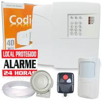 Kit Alarme Residencial E Comercial Sem Fio Ppa 1s + Brinde