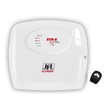 Central Cerca Elétrica Jfl Ecr- 8 Plus Com Alarme E Controle
