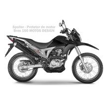 Bico De Pato Bros 160 - Spoiler Motos Design Pintado