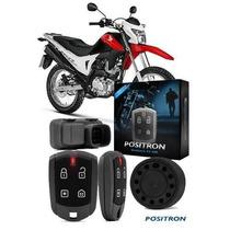 Alarme Positron Duoblock G7 Fx Honda Bros 150 2010 Em Diante