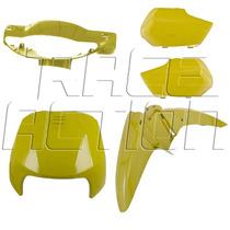 Kit Plásticos Carenagem Frontal Honda Biz 100 De 1998 A 2005