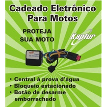 Cadeado Eletrônico Moto/carro Anti-furto