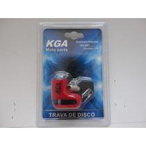 Trava De Disco Anti Furto Kga Kga-2701 Vermelho 20021v