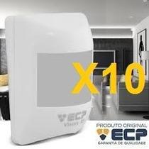 Kit 10 Sensor Iluminação Sensor De Presença E Fotocélula Ecp
