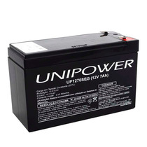 Bateria Selada 12 Volts 7 Amperes Para Alarmes, Cerca Etc.