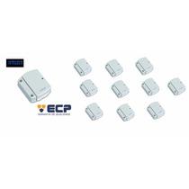 Kit 10 Sensores Magnéticos Ivp Sem Fio Intruder Ecp