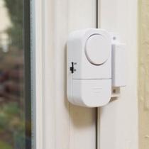 Alarme Sensor Magnético Presença Para Casa Porta Janela Ac6