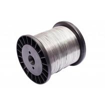 Fio Aço Inox P/ Cerca Elétrica Carretel Bobina Rolo 0,60mm