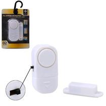 Alarme Sensor Magnético S/ Fio Residencial Janela Porta 6533