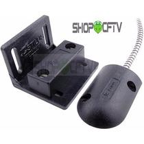 Sensor Mini Magnetico Para Porta De Aço Preto Kit 10 Peças
