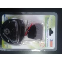 Sensor De Iluminação Externo Bivolt Exatron Branco Ou Preto