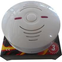 Detector De Fumaça Com Alarme Segurança Contra Incêndio 100