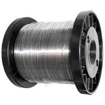 Carretel Arame Aço Inox Cerca Eletrica Fio 0,45 Mm Bobina