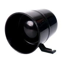 Sirene Ipec P/ Alarme E Cerca 12v - 2 Tons Preta 8825