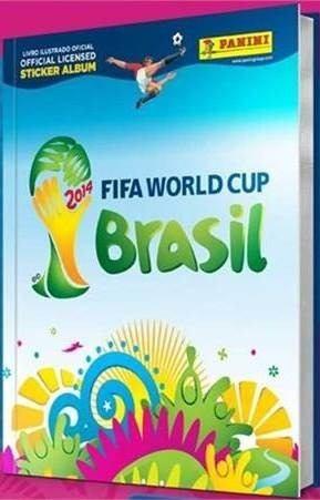 Album De Capa Dura Copa Do Mundo 2014! Frete Grátis!