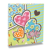 Álbum De Fotos Pop - 100 Fotos 15x21 Cm - Corações