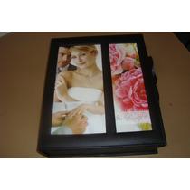 Álbum 15x21 200 Fotos C/visor Estojo E Album+frete Gratis