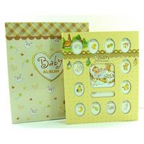 Álbum Fotográfico Diário Do Bebê 80 Fotos 10x15cm - Ab088