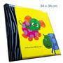Álbum 34x34cm Infantil 500 Fotos 10x15cm
