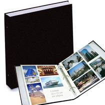 Álbum Jumbo, Sóbrio, 35x35cm P/ 500 Fotos De 10x15 Cm