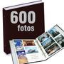 Álbum De Fotografias P/600 Fotos 10x15cm - Capa Luxuosa